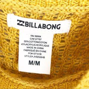 BILLABONG l Yellow Knit Tank